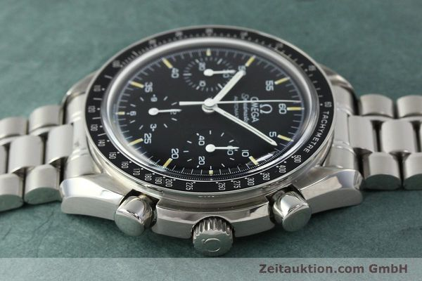 Used luxury watch Omega Speedmaster chronograph steel automatic Kal. 1143 ETA 2890A2  | 150219 05