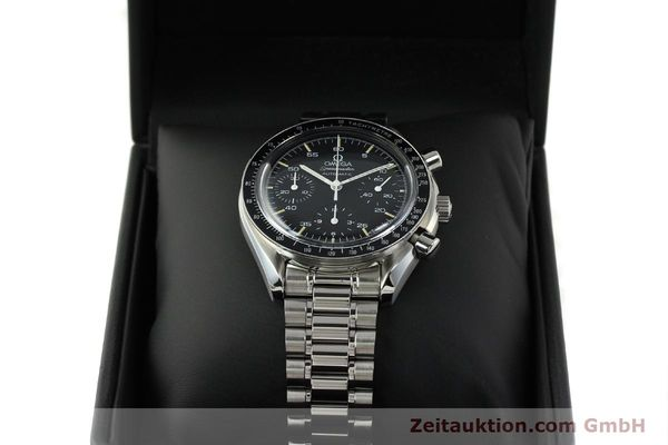 Used luxury watch Omega Speedmaster chronograph steel automatic Kal. 1143 ETA 2890A2  | 150219 07