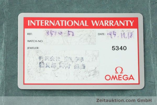 Used luxury watch Omega Speedmaster chronograph steel automatic Kal. 1143 ETA 2890A2  | 150219 08