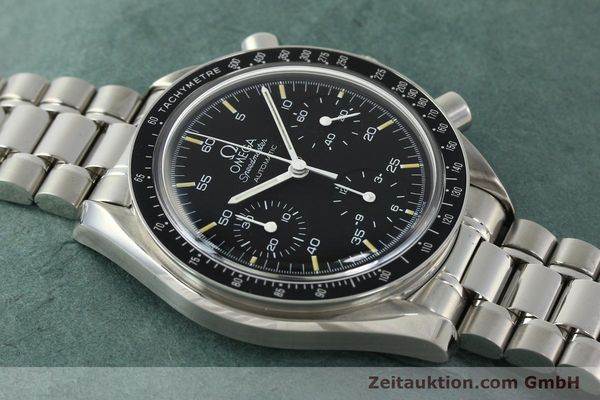 Used luxury watch Omega Speedmaster chronograph steel automatic Kal. 1143 ETA 2890A2  | 150219 15
