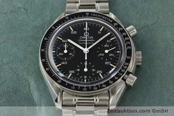 Used luxury watch Omega Speedmaster chronograph steel automatic Kal. 1143 ETA 2890A2  | 150219 16