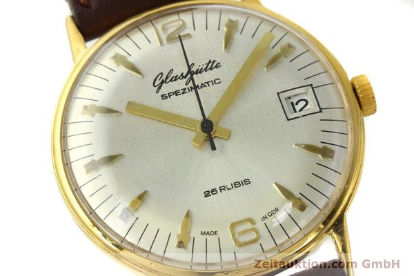 Used luxury watch Glashütte Spezimatic gold-plated automatic Kal. 75  | 150230 02