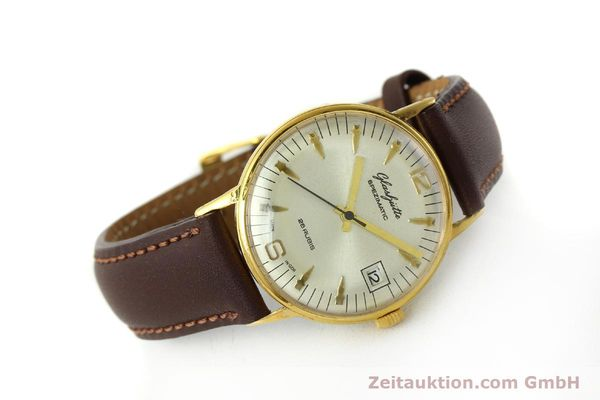 Used luxury watch Glashütte Spezimatic gold-plated automatic Kal. 75  | 150230 03