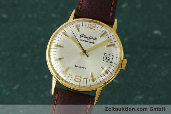Used luxury watch Glashütte Spezimatic gold-plated automatic Kal. 75  | 150230 04