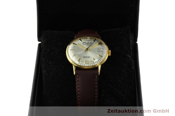 Used luxury watch Glashütte Spezimatic gold-plated automatic Kal. 75  | 150230 07