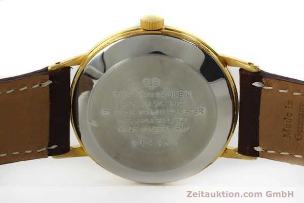 Used luxury watch Glashütte Spezimatic gold-plated automatic Kal. 75  | 150230 09