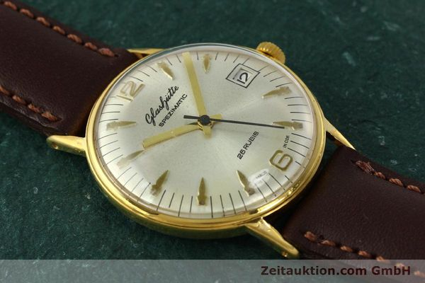 Used luxury watch Glashütte Spezimatic gold-plated automatic Kal. 75  | 150230 12