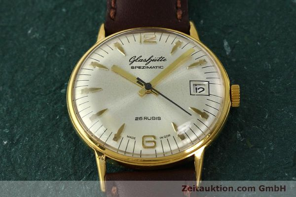 Used luxury watch Glashütte Spezimatic gold-plated automatic Kal. 75  | 150230 13
