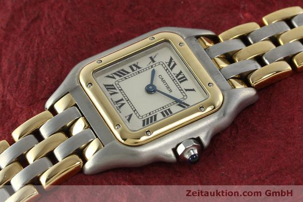 Used luxury watch Cartier Panthere steel / gold quartz Kal. 057  | 150232 01