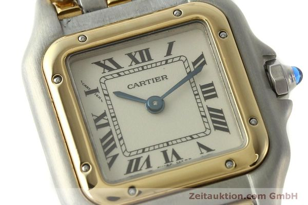 Used luxury watch Cartier Panthere steel / gold quartz Kal. 057  | 150232 02