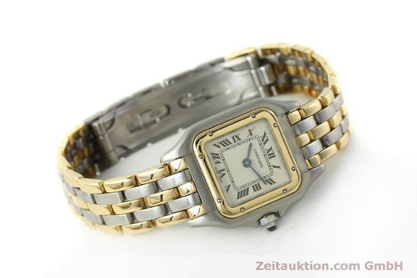 Used luxury watch Cartier Panthere steel / gold quartz Kal. 057  | 150232 03