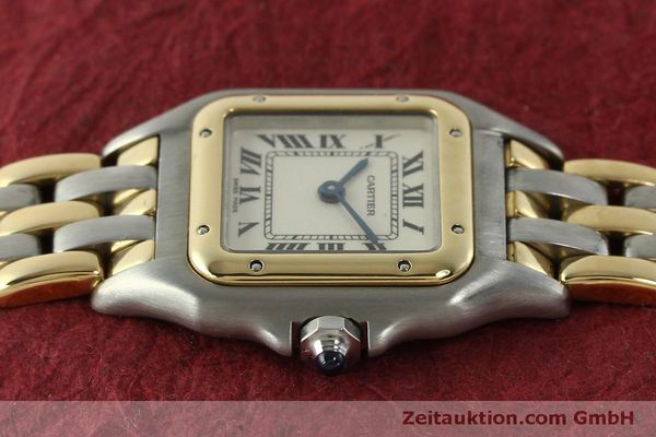 Used luxury watch Cartier Panthere steel / gold quartz Kal. 057  | 150232 05