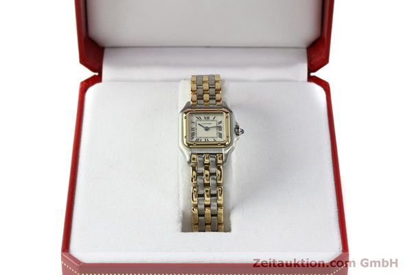 Used luxury watch Cartier Panthere steel / gold quartz Kal. 057  | 150232 07