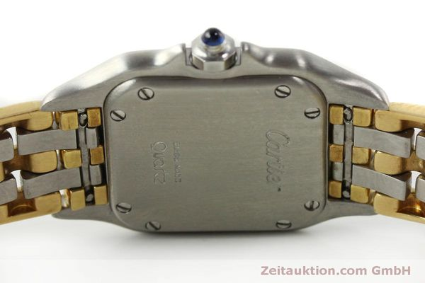 Used luxury watch Cartier Panthere steel / gold quartz Kal. 057  | 150232 09
