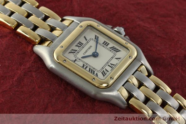 Used luxury watch Cartier Panthere steel / gold quartz Kal. 057  | 150232 13