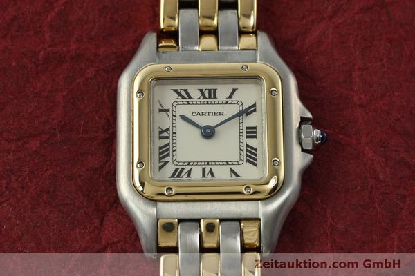 Used luxury watch Cartier Panthere steel / gold quartz Kal. 057  | 150232 14