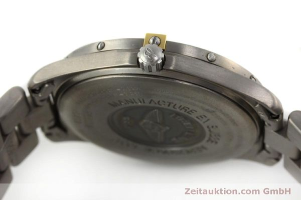 Used luxury watch Breitling Aerospace chronograph titanium / gold quartz Kal. B65 ETA E10391 Ref. F65062  | 150234 08