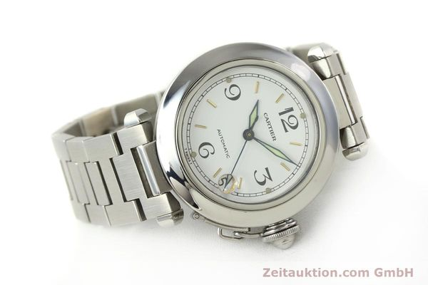 Used luxury watch Cartier Pasha steel automatic Kal. 049 ETA 2892A2  | 150238 03
