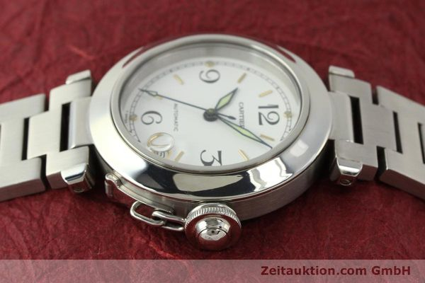 Used luxury watch Cartier Pasha steel automatic Kal. 049 ETA 2892A2  | 150238 05