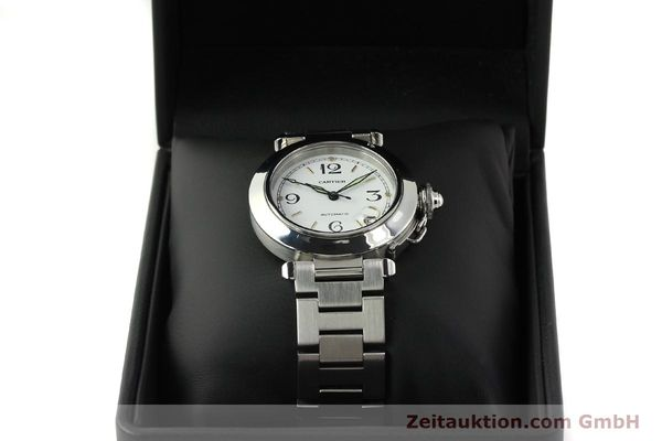 Used luxury watch Cartier Pasha steel automatic Kal. 049 ETA 2892A2  | 150238 07