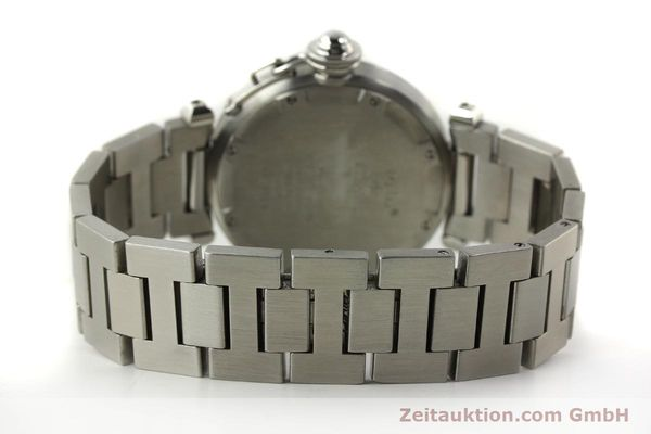 Used luxury watch Cartier Pasha steel automatic Kal. 049 ETA 2892A2  | 150238 11