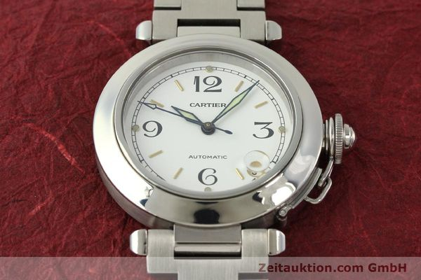 Used luxury watch Cartier Pasha steel automatic Kal. 049 ETA 2892A2  | 150238 15