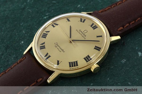 montre de luxe d occasion Omega Seamaster or 18 ct automatique Kal. 711  | 150239 01