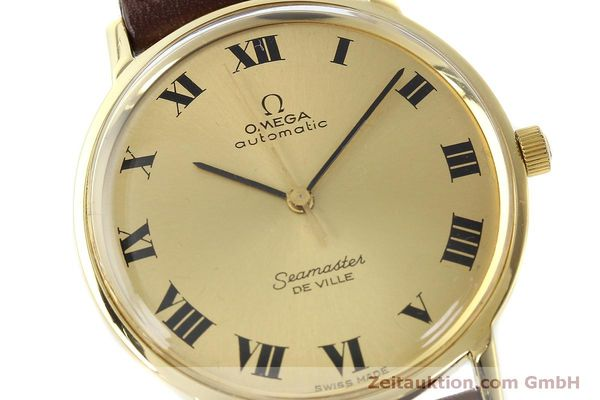 montre de luxe d occasion Omega Seamaster or 18 ct automatique Kal. 711  | 150239 02