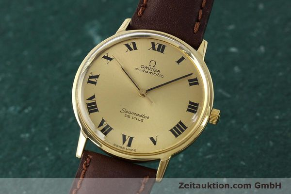 montre de luxe d occasion Omega Seamaster or 18 ct automatique Kal. 711  | 150239 04