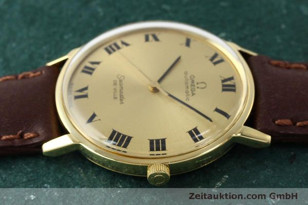 montre de luxe d occasion Omega Seamaster or 18 ct automatique Kal. 711  | 150239 05