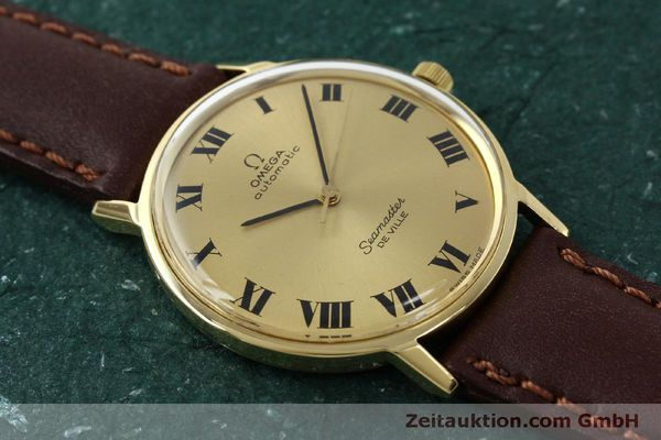 montre de luxe d occasion Omega Seamaster or 18 ct automatique Kal. 711  | 150239 13