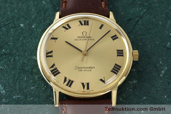 montre de luxe d occasion Omega Seamaster or 18 ct automatique Kal. 711  | 150239 14