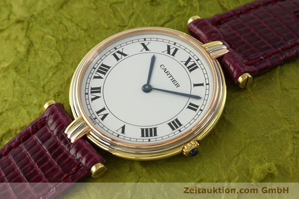 montre de luxe d occasion Cartier * or 18 ct quartz Kal. 81  | 150240 01