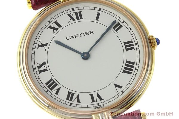 montre de luxe d occasion Cartier * or 18 ct quartz Kal. 81  | 150240 02