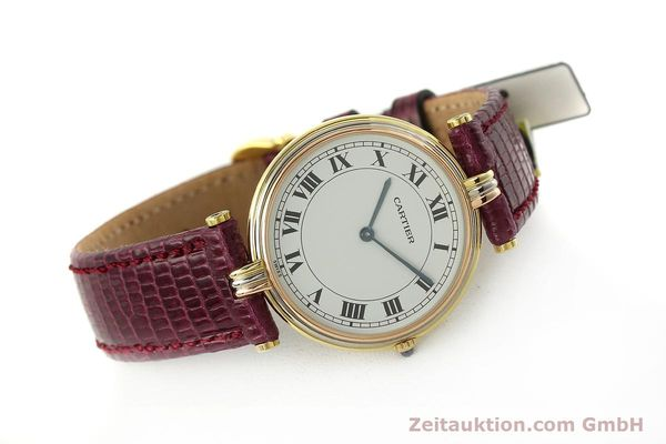 montre de luxe d occasion Cartier * or 18 ct quartz Kal. 81  | 150240 03