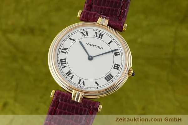 montre de luxe d occasion Cartier * or 18 ct quartz Kal. 81  | 150240 04