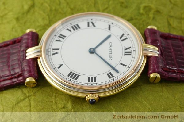 Used luxury watch Cartier * 18 ct gold quartz Kal. 81  | 150240 05