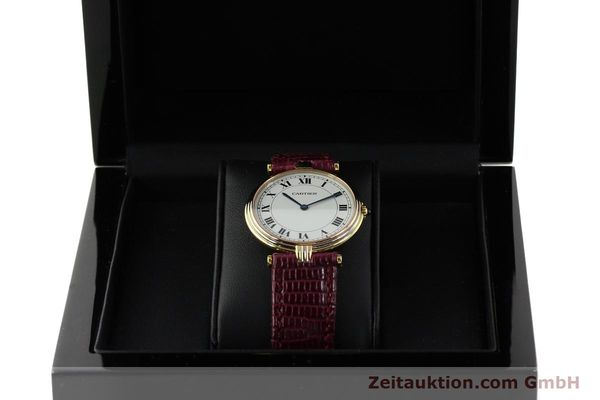 montre de luxe d occasion Cartier * or 18 ct quartz Kal. 81  | 150240 07