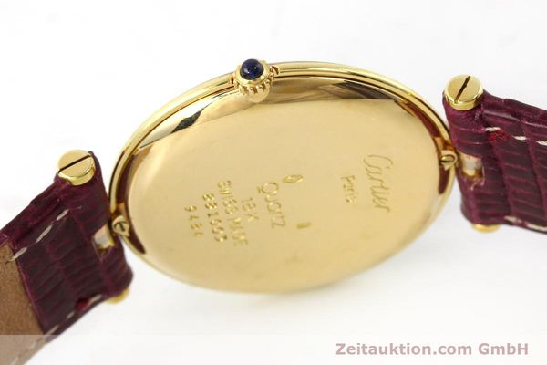 Used luxury watch Cartier * 18 ct gold quartz Kal. 81  | 150240 08