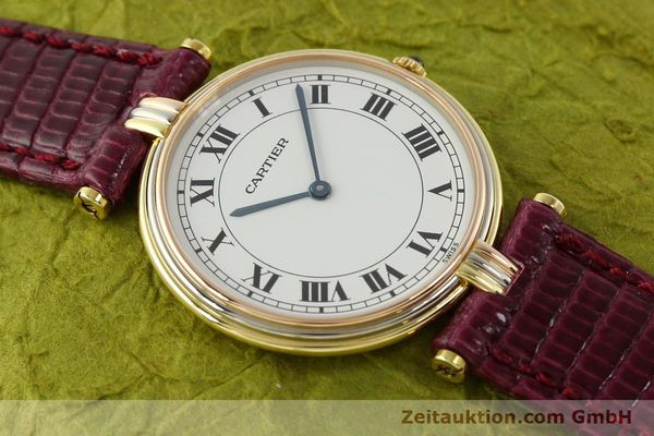 montre de luxe d occasion Cartier * or 18 ct quartz Kal. 81  | 150240 11
