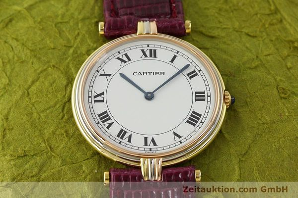 Used luxury watch Cartier * 18 ct gold quartz Kal. 81  | 150240 12