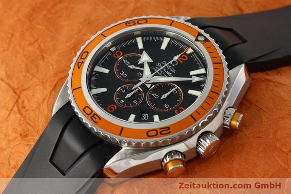 Used luxury watch Omega Seamaster chronograph steel automatic Kal. 3313 Ref. 22185000  | 150262 01