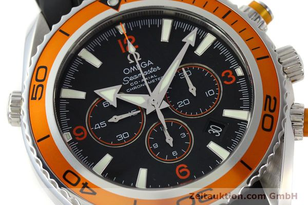 Used luxury watch Omega Seamaster chronograph steel automatic Kal. 3313 Ref. 22185000  | 150262 02