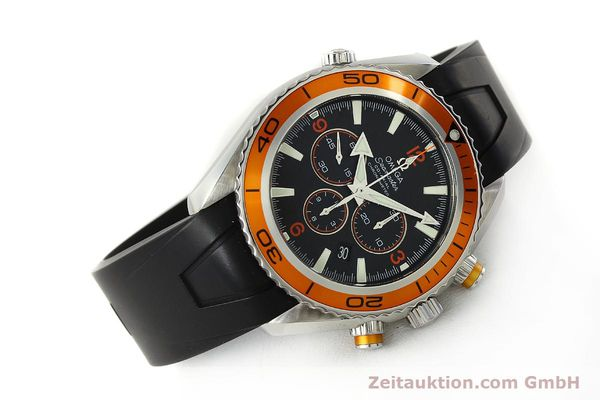Used luxury watch Omega Seamaster chronograph steel automatic Kal. 3313 Ref. 22185000  | 150262 03