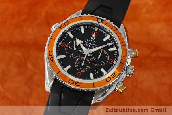 Used luxury watch Omega Seamaster chronograph steel automatic Kal. 3313 Ref. 22185000  | 150262 04
