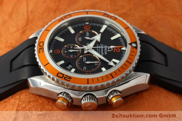Used luxury watch Omega Seamaster chronograph steel automatic Kal. 3313 Ref. 22185000  | 150262 05