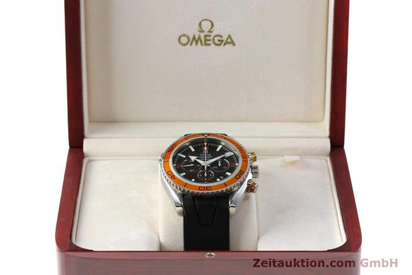 Used luxury watch Omega Seamaster chronograph steel automatic Kal. 3313 Ref. 22185000  | 150262 07