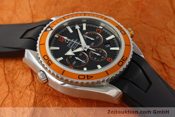 Used luxury watch Omega Seamaster chronograph steel automatic Kal. 3313 Ref. 22185000  | 150262 19