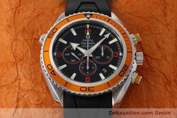 Used luxury watch Omega Seamaster chronograph steel automatic Kal. 3313 Ref. 22185000  | 150262 20