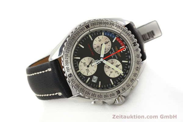 Used luxury watch Breitling Yachting chronograph steel quartz Kal. B53 ETA 251.262 Ref. A53606  | 150265 03